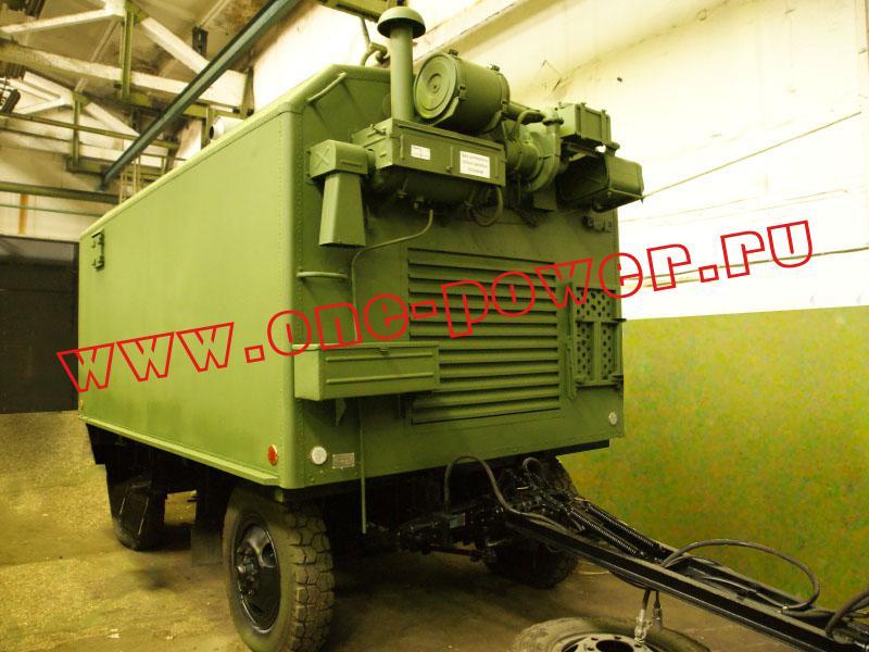 Военный дизельный генератор