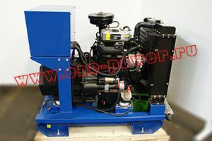 Фото генератора АД-13С-Т400 вид сбоку