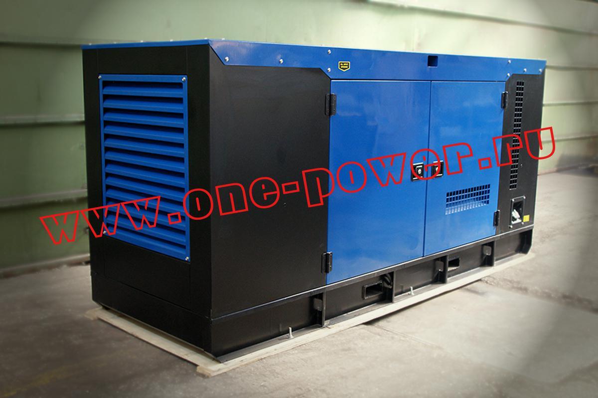 Дизельный генератор 120 кВт в шумозащитном кожухе