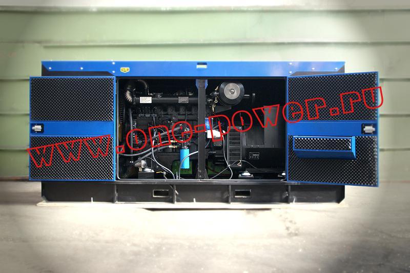 Поставка генератора 120 кВт для строительства аэропорта Южный
