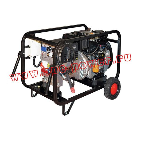 Сварочный дизельный генератор Gesan DS 200 L rope