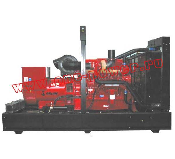 Дизельная электростанция Gesan DVA 700E
