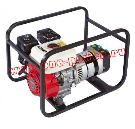 Бензиновый генератор Gesan G 3500 H rope