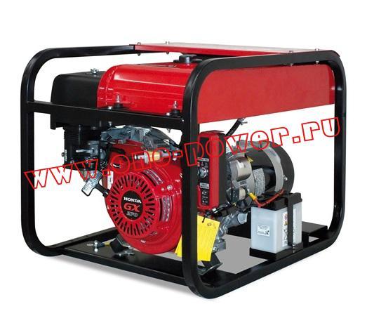 Бензиновый генератор Gesan G 5000 H rope