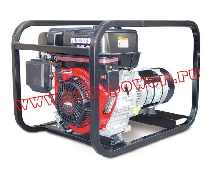 Бензиновый генератор Gesan G 5000 V rope
