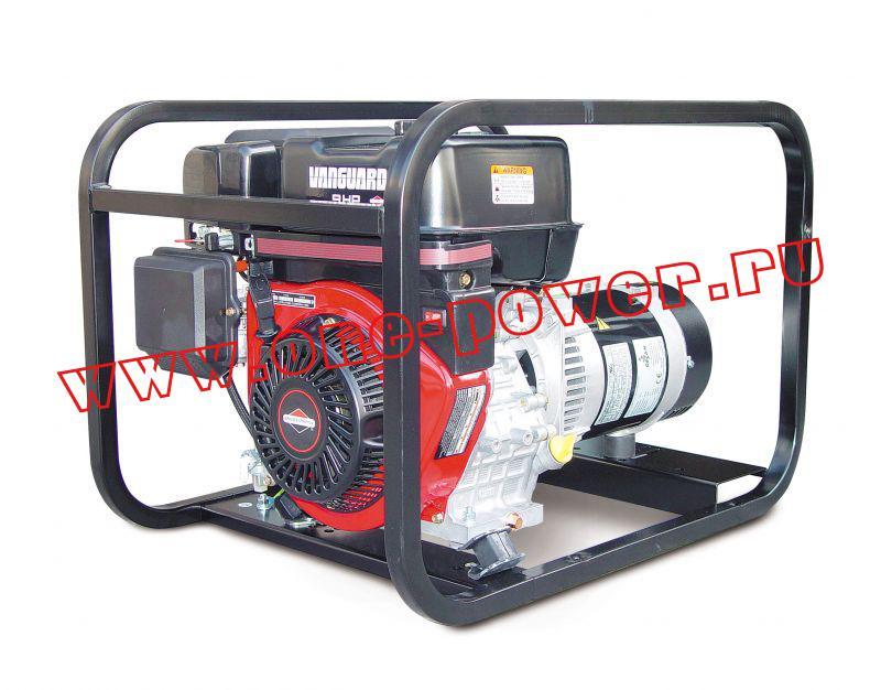 Бензиновый генератор Gesan G 7000 V rope