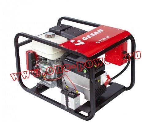 Бензиновый генератор Gesan G 7 TF H key