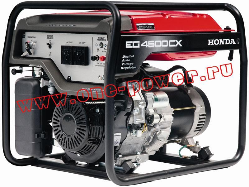 Бензиновая электростанция  Honda EG 4500 CX
