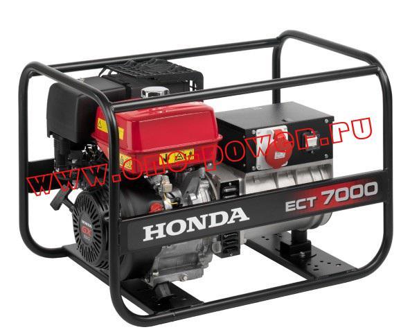Бензиновая электростанция  Honda ЕСТ7000