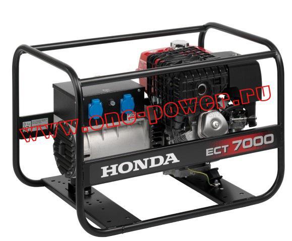 Honda ЕСТ7000 (вид сзади)