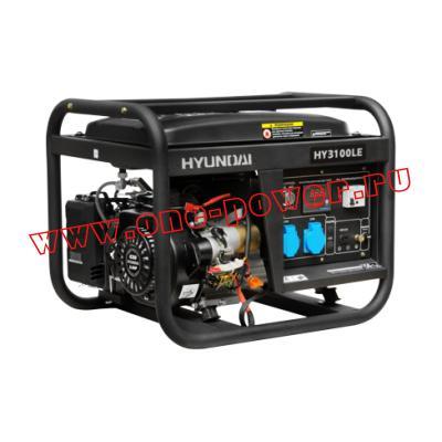 Бензиновый генератор 2,5 кВт Hyundai HY 3100LE