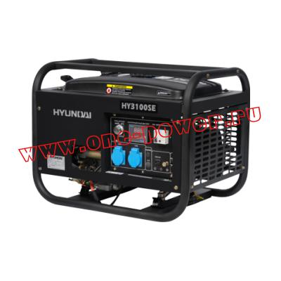 Бензиновый генератор 2,5 кВт Hyundai HY 3100SE
