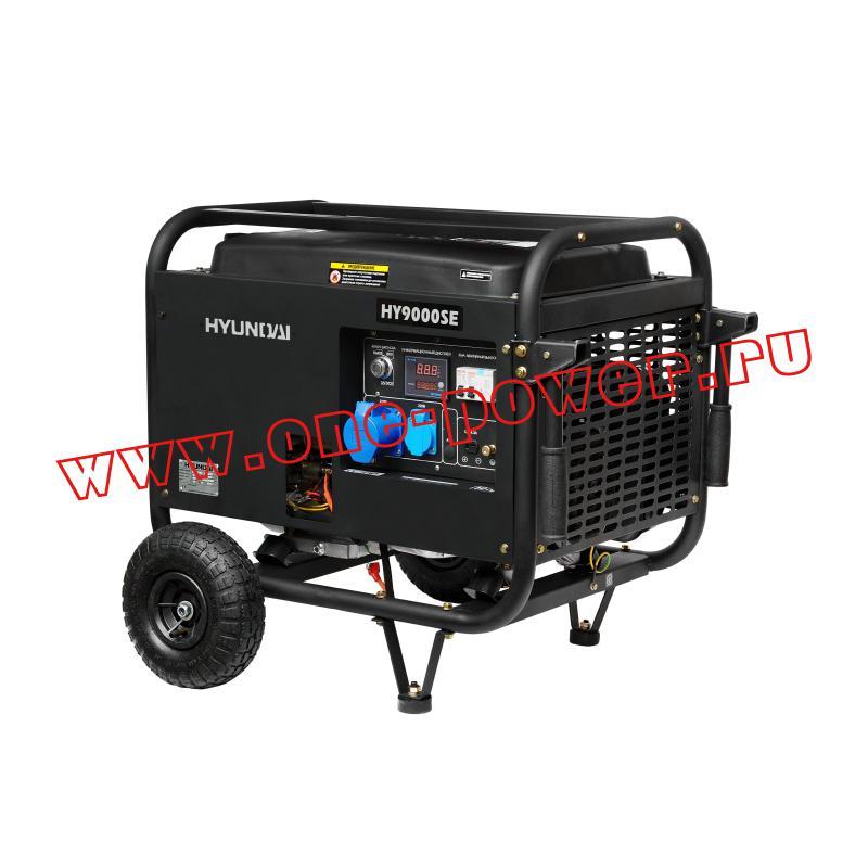 Бензиновый генератор 6 кВт Hyundai HY 9000SE