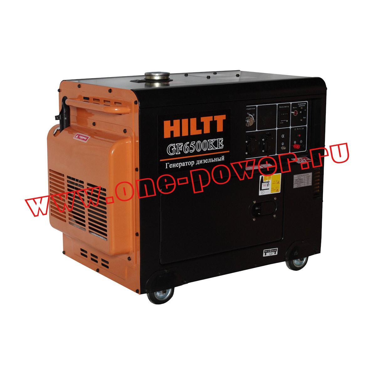 Дизель-генератор Kipor Hiltt GF6500KE