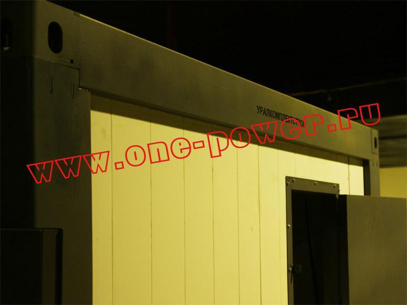Дизельная электростанция в энергомодуле