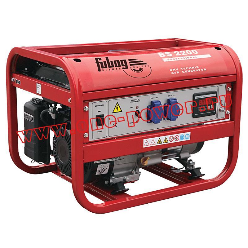Бензиновые генераторы Fubag мощностью от 2 кВт
