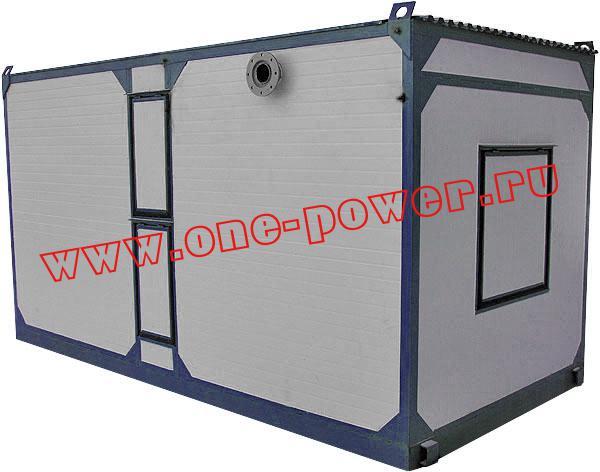 Дизельная электростанция в антивандальном контейнере, фото 2