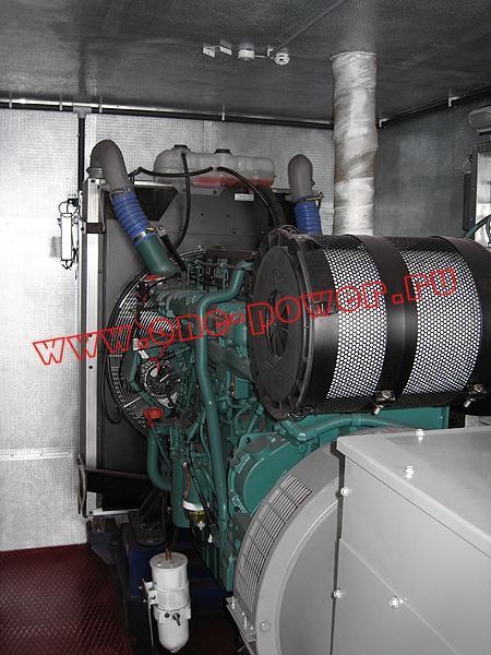 Дизельная электростанция в антивандальном контейнере, фото 3