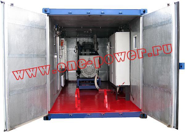 Дизельная электростанция в антивандальном контейнере, фото 4