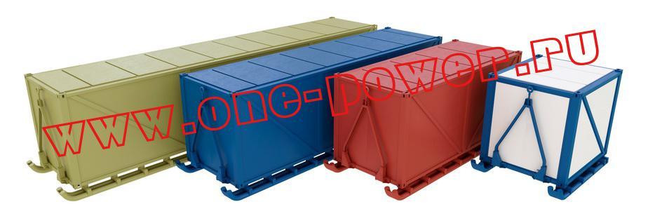 Фото контейнеров на салазках