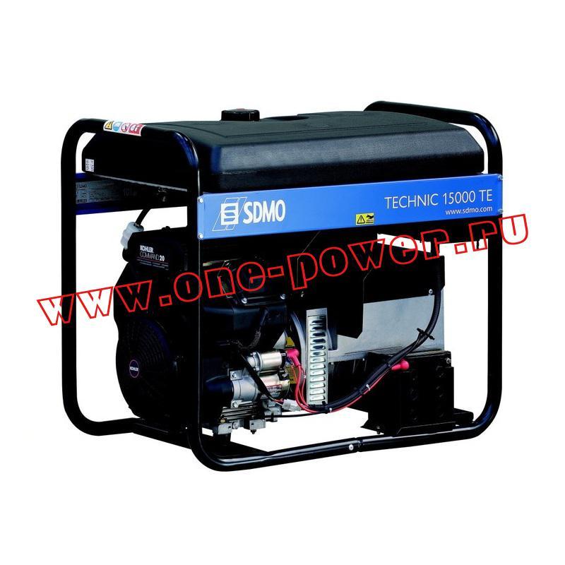 Бензиновый генератор SDMO Tecnic 15000TE