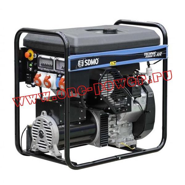 Бензиновый генератор SDMO Tecnic 20000TE