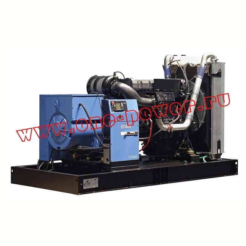 Дизельная электростанция SDMO V500K