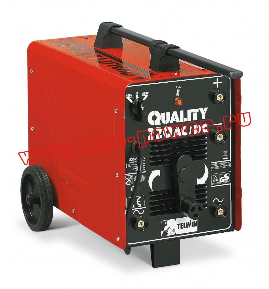 Telwin Quality 220 AC/DC дуговой сварочный аппарат