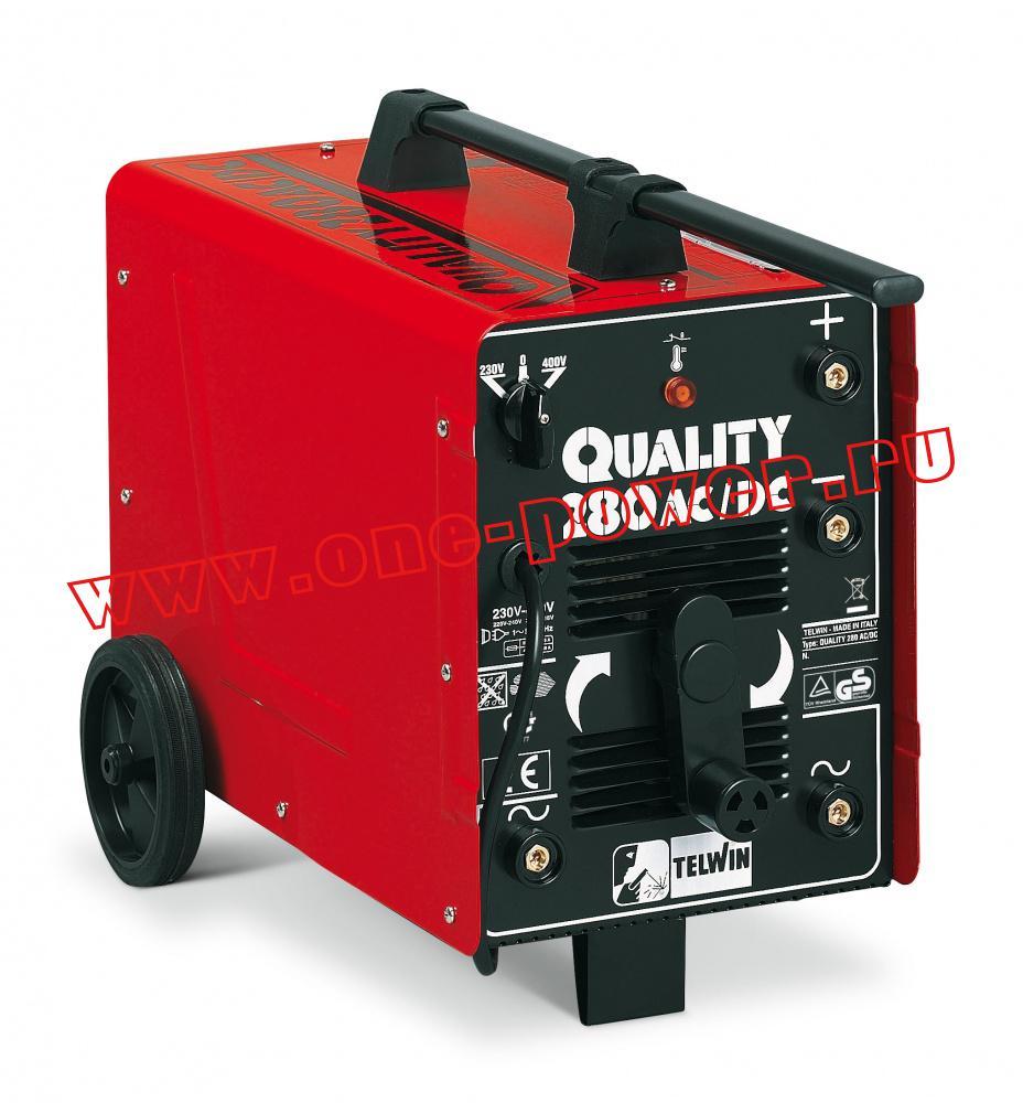 Telwin Quality 280 AC/DC дуговой сварочный аппарат