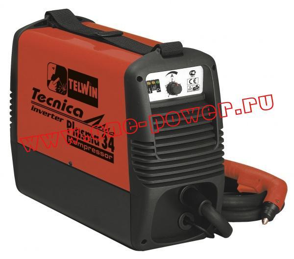 Telwin Tecnica Plasma 34 Kompressor инвертор воздушно-плазменной резки