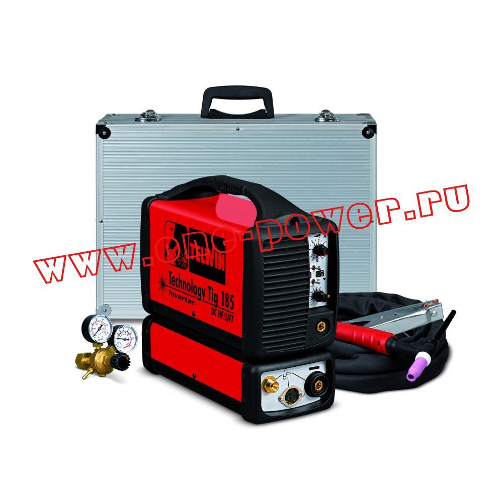 Аппарат аргонодуговой сварки Telwin Tecnology TIG 185 DC - HF/LIFT