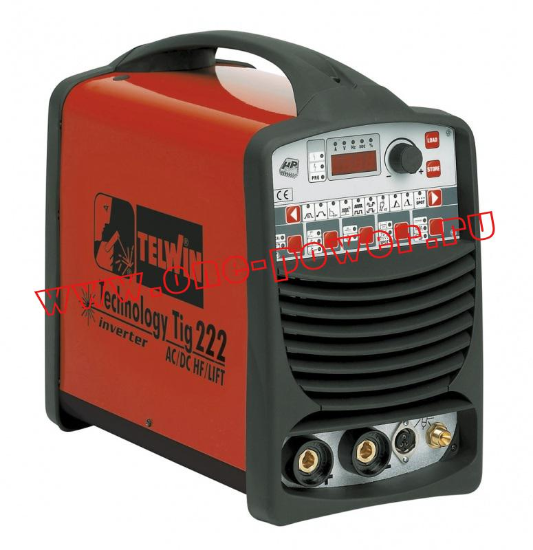 Telwin Technology TIG 222 AC/DC - HF/LIFT