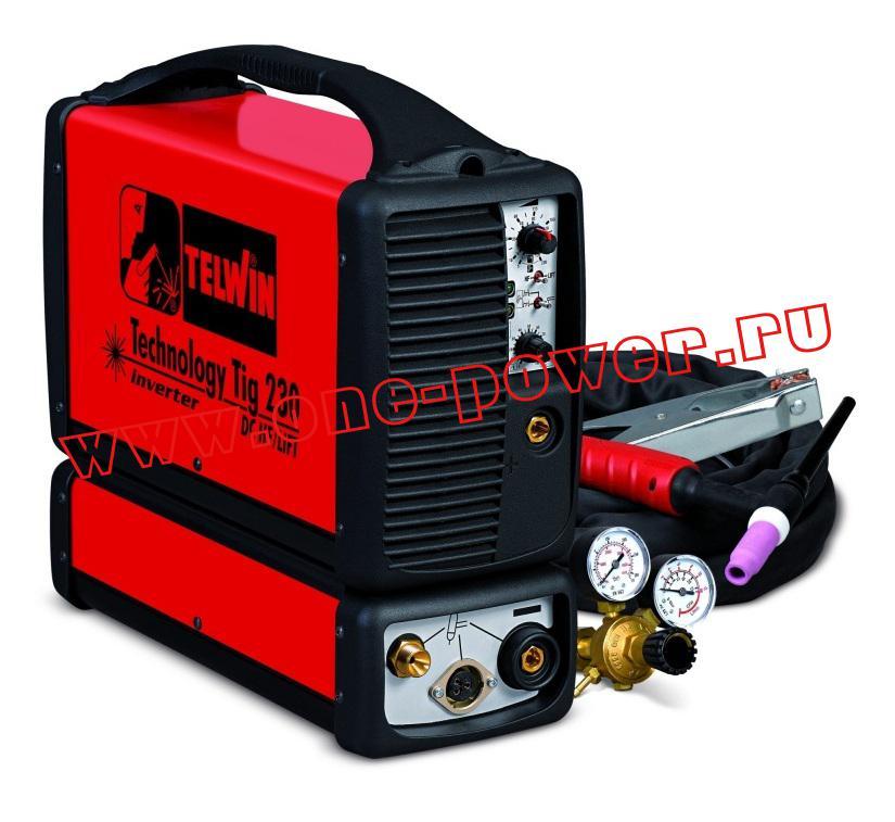Аппарат аргонодуговой сварки Telwin Tecnology TIG 230 DC - HF/LIFT