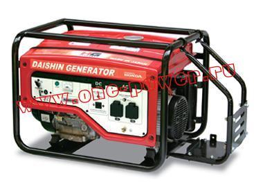 Бензиновый генератор Вепрь Daishin SEB6000HSa