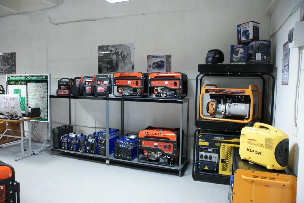 Поступления на склад сварочного оборудования Aurora