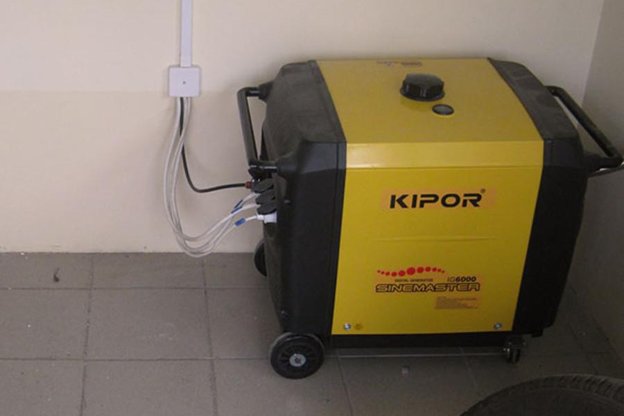Поставка генератора для отопительного котла