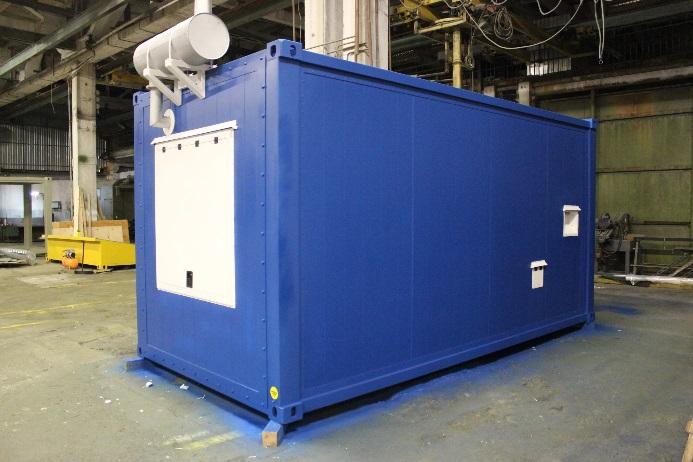 Поставка дизельного генератора для образовательного учреждения