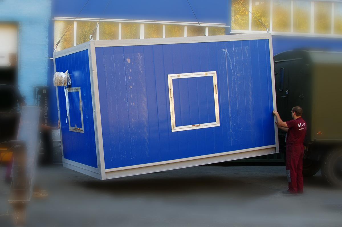 Поставка электростанции в контейнерном исполнении на полуостров Крым