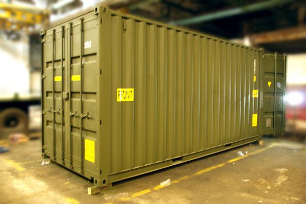 Поставка дизельной электростанции в морском контейнере