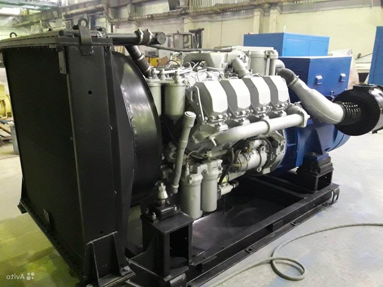 Поставка дизельного генератора АД-200С в Москву