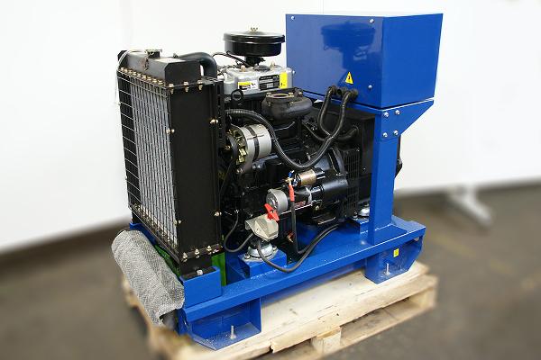 Поставка дизельного генератора мощностью 13 кВт в Магадан
