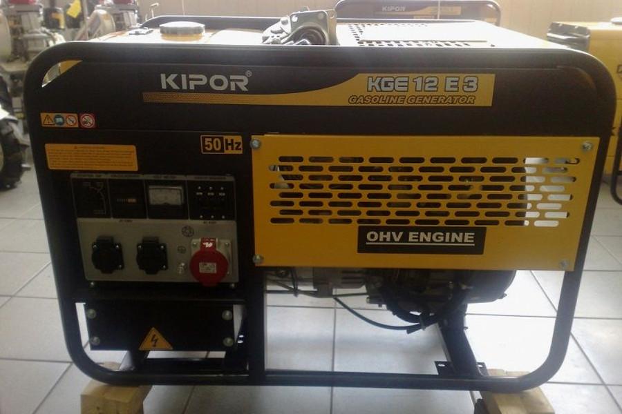 Поставка бензиновых электростанций Kipor kge12e