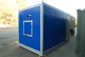 Фотографии генератора в контейнере типа Север