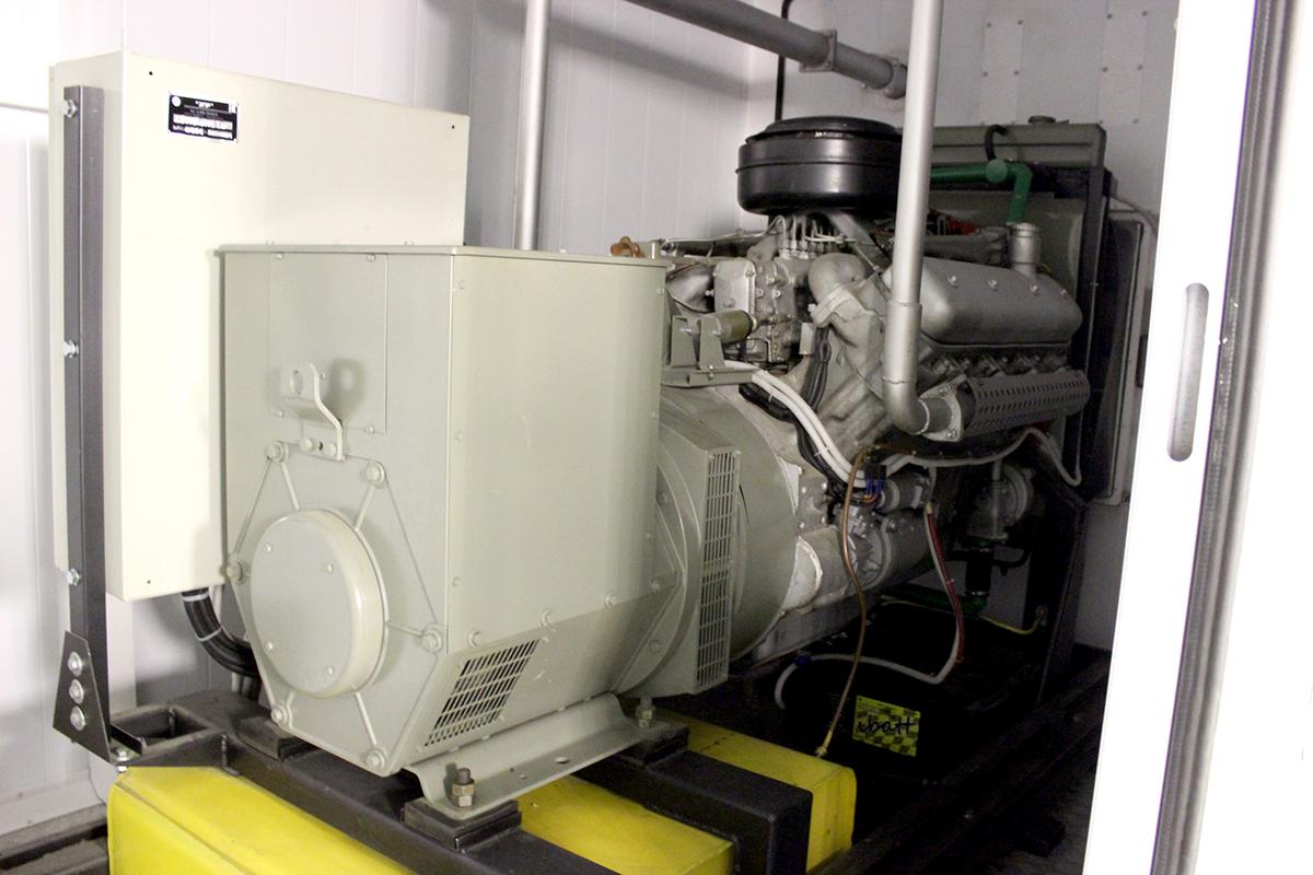 Поставка генератора 100 кВт для фармакологической компании
