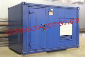 Фотографии дизельной электростанции 120 киловатт в контейнере