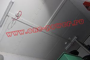 Фото освещения и датчиков противопожарной сигнализации