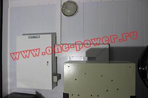 Фото щита ввода-вывода контейнера для ДГУ 200кВт ЯМЗ