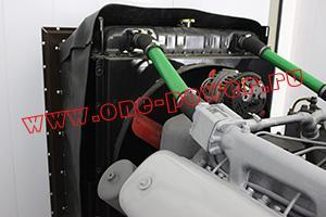 Фото радиатора системы охлаждения контейнера для ДГУ 200кВт ЯМЗ