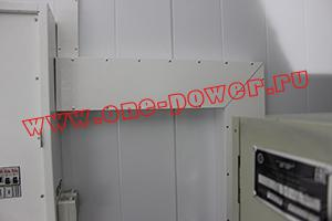 Фотография кабель-канала от щита ввода-вывода