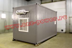 Фото блок-контейнера для ДГУ общий вид